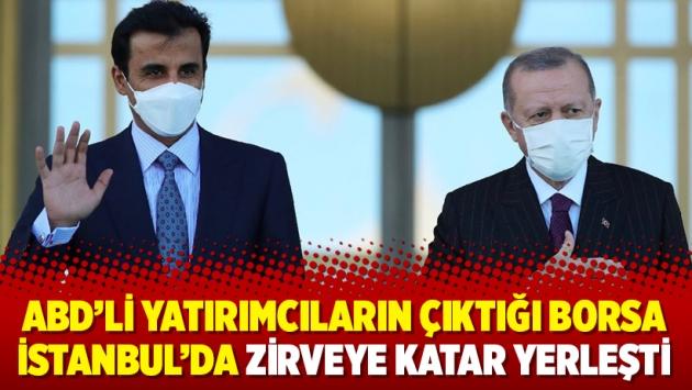 ABD'li yatırımcıların çıktığı Borsa İstanbul'da zirveye Katar yerleşti