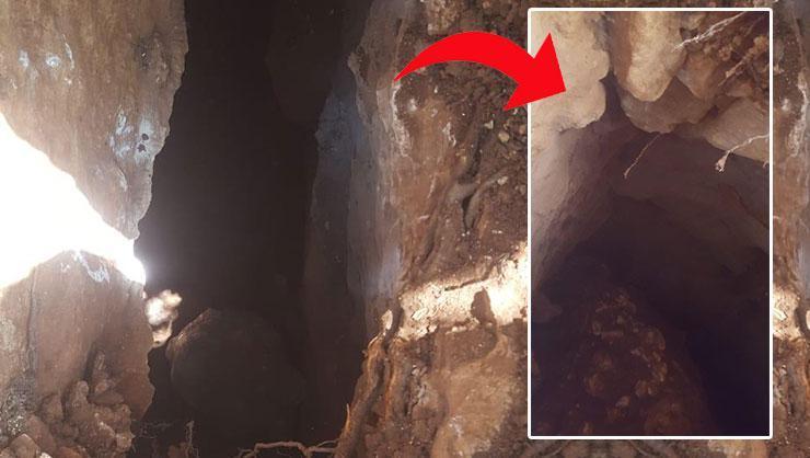 Adıyamanda 80 metrelik Orta Çağdan kalma tarihi tünel!