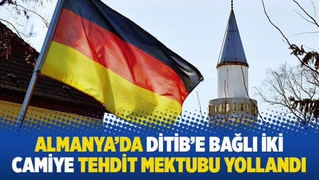Almanya'da DİTİB'e bağlı iki camiye tehdit mektubu yollandı