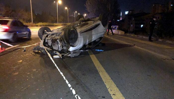 Ankara'da trafikte silahlı çatışma kazayla son buldu: 1 ölü, 1 yaralı