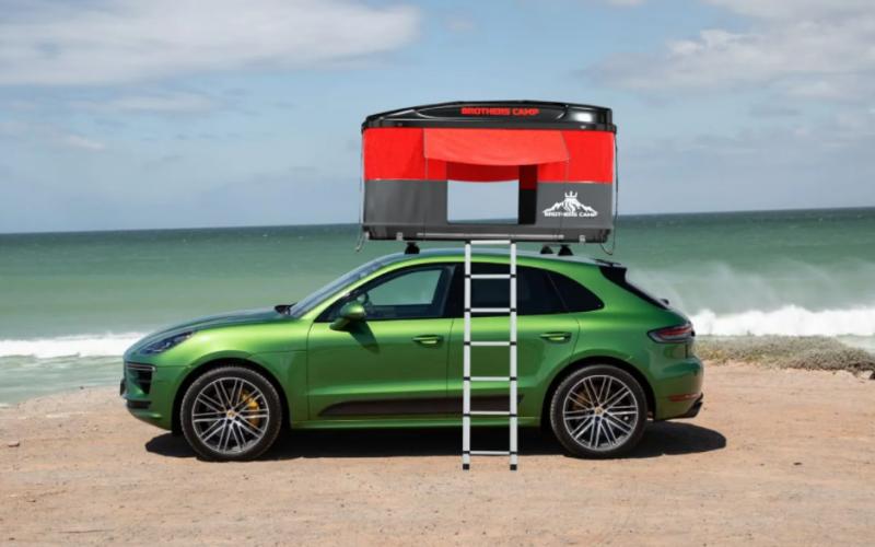 Araç üstü çadır ile konaklama devri