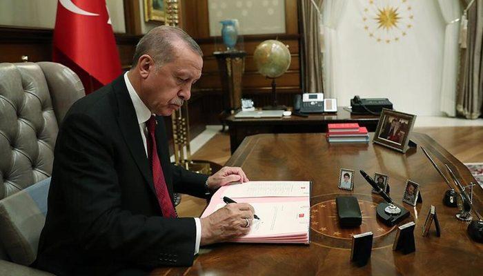 Atama kararları Resmi Gazete'de! Cumhurbaşkanı Erdoğan imzaladı