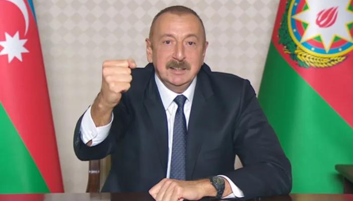 Azerbaycan Cumhurbaşkanı İlham Aliyev anlaşma şartlarını açıkladı