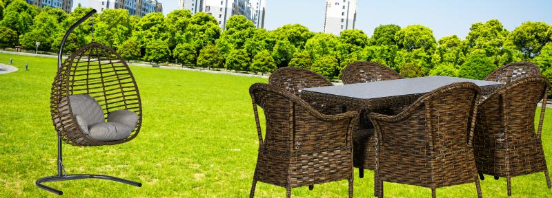 Bahçe mobilyalarında şıklık ve tasarım ön plana çıkıyor