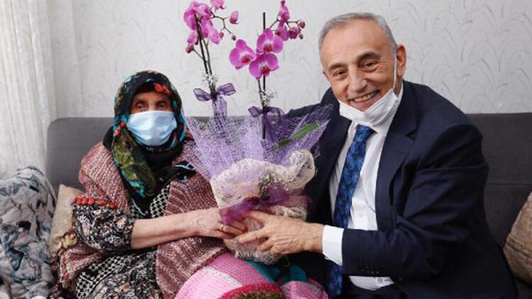 Başkan Çebi'den Yaşlılar Haftası'na özel ziyaret