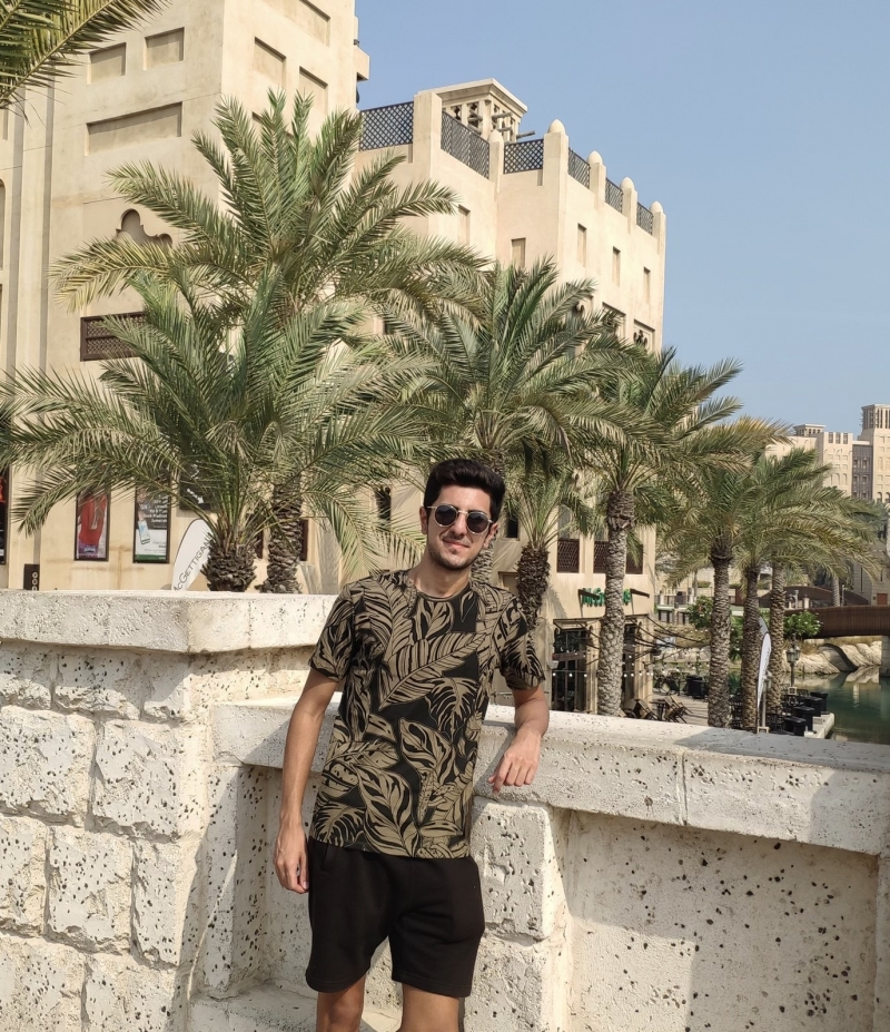 Berkay Yıldırım Dubai'de!