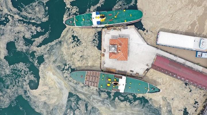Bilim insanları deniz salyası tehdidini incelemek için Marmara'ya açıldı: