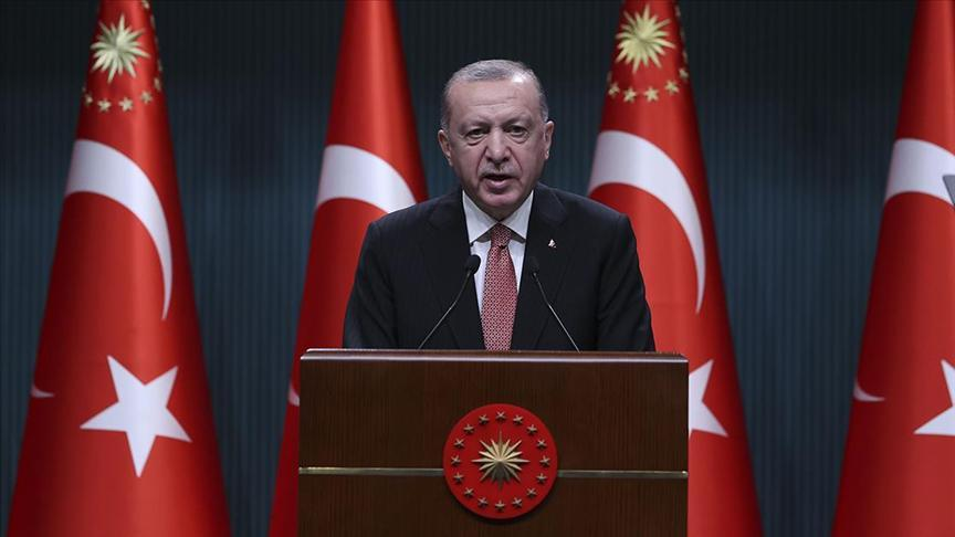 Cumhurbaşkan Erdoğan açıkladı: Sokağa çıkma yasağı kalkıyor