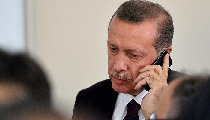 Cumhurbaşkanı Erdoğan Ayda'nın babası ile görüştü