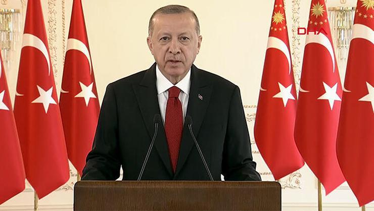 Cumhurbaşkanı Erdoğan, Kağıthane Meydanı açılışında açıklama...