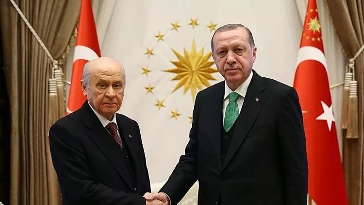 Cumhurbaşkanı Erdoğan ve Devlet Bahçeli KKTCye gidecek