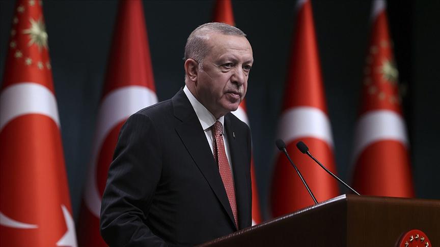 Cumhurbaşkanı Erdoğandan yüz yüze eğitim açıklaması: Aşı olmayanlara...