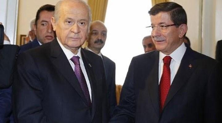 Davutoğlu: Ne yalanda ne iftirada ne de şiddete tahrikte Bahçeli ile yarışamayız