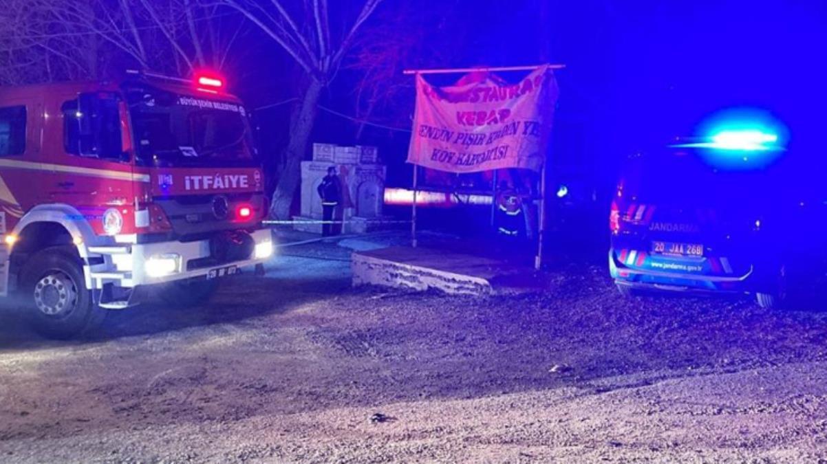 Denizli'de restoranda çıkan yangında 3 kişi hayatını kaybetti