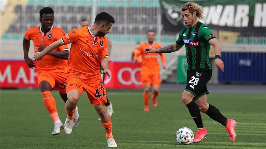 Denizlispor:0 Başakşehir:0 (Maç sonucu)