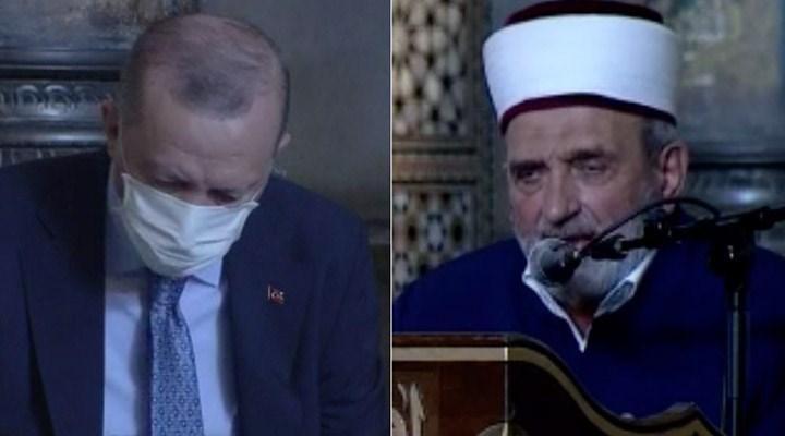 Erdoğan'ın katıldığı programda imam, Atatürk'e lanet okudu: