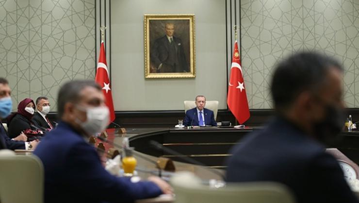 Erdoğan, Kabine toplantısında Restoranlar ne zaman açılacak?...