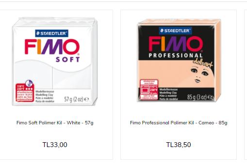 Fimo Ürünleri
