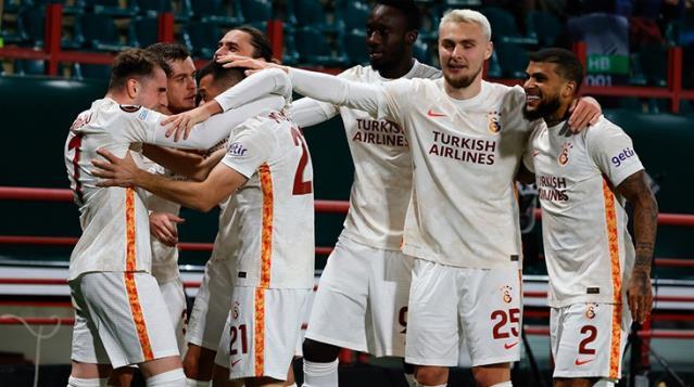 Galatasaray Avrupa'da Bir İlki Yaşadı
