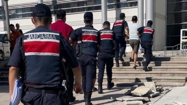 Hatay'daki orman yangınına 3 gözaltı