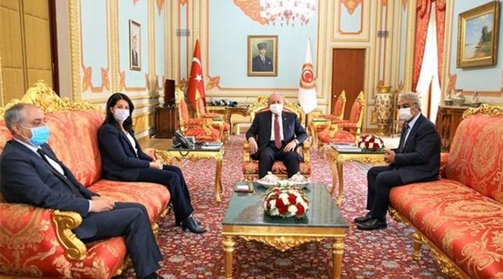 HDP Eş Genel Başkanları, TBMM Başkanı Şentop ile görüştü