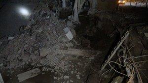 İnşaat alanındaki bina çöktü: 2 gözaltı