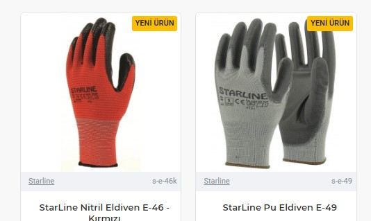 İş sağlığı ve güvenliği için eldiven tercihine dikkat etmek gerekir