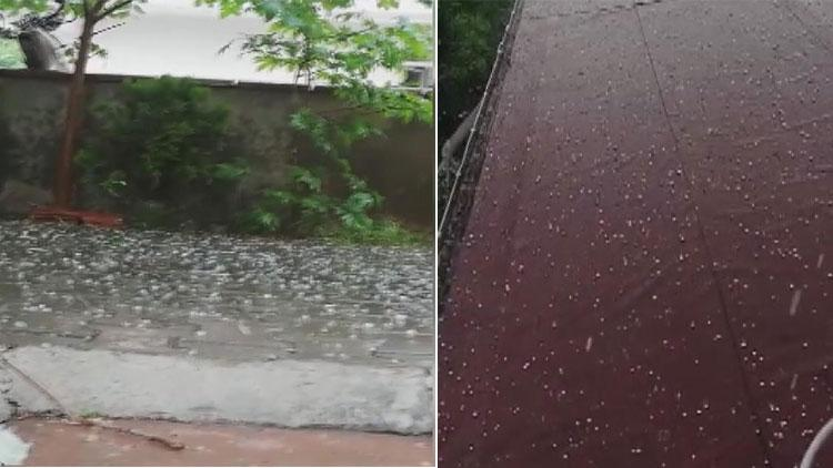 İstanbul'da Mayıs ayında dolu yağışı etkili oldu
