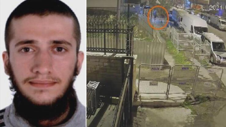 İstanbulda tabur komutanlığını gözetlerken yakalanan teröristten...