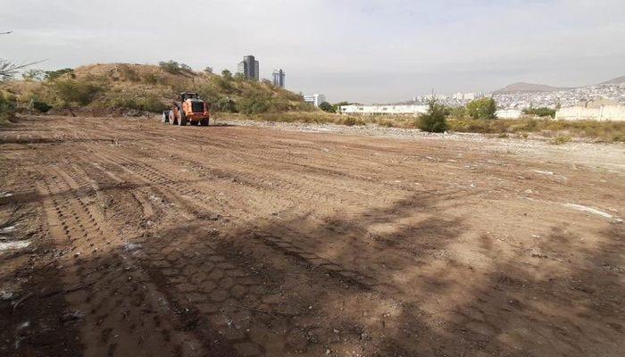 İzmir'de konteyner kentin inşaatına başlandı