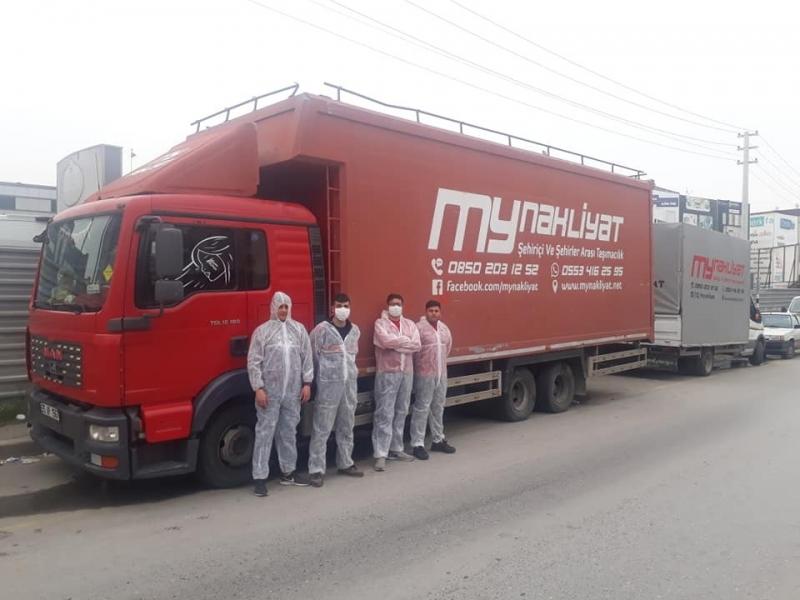 İzmir parça eşya taşıma