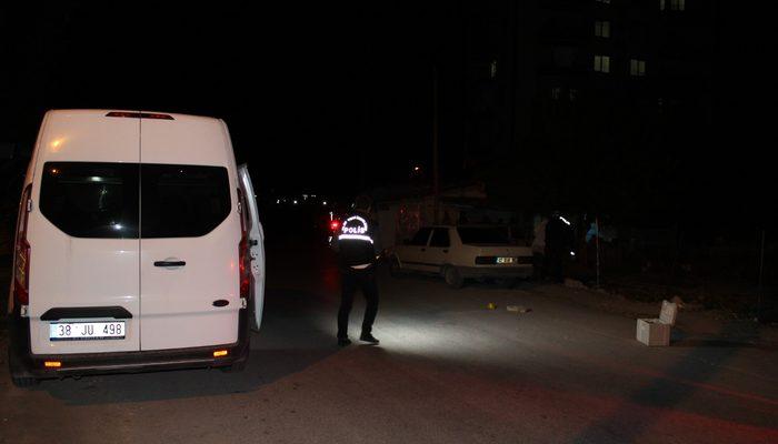 Kayseri'de pompalı tüfekli saldırı: 2 yaralı