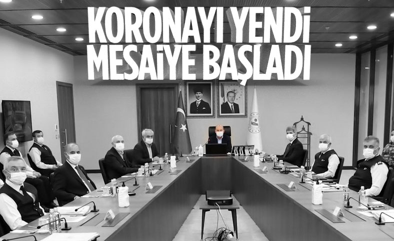 Koronavirüs tedavisi biten İçişleri Bakanı Süleyman Soylu'dan ilk görüntü