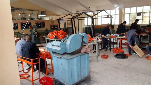 Mardin'de meslek liseleri üretim merkezlerine dönüşüyor