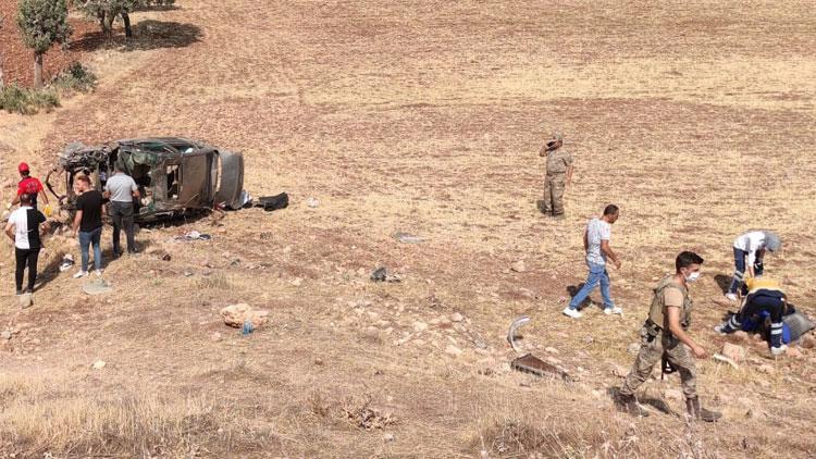 Mardinde feci kaza! 2 asker hayatını kaybetti...