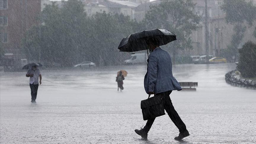 Meteorolojiden son dakika uyarısı: Gök gürültülü sağanak bekleniyor