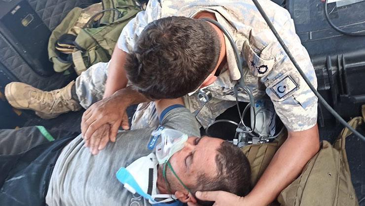 Milli Savunma Bakanlığı o görüntüleri paylaştı