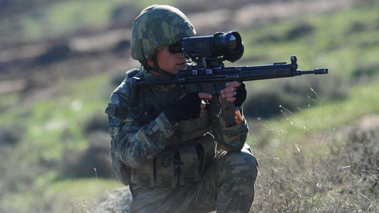 MSB duyurdu! 2 PKKlı terörist etkisiz hale getirildi