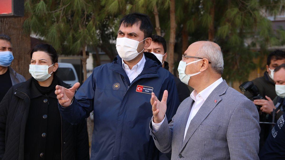 Murat Kurum: Bayraklı'da hasar tespit çalışmaları tamamlandı