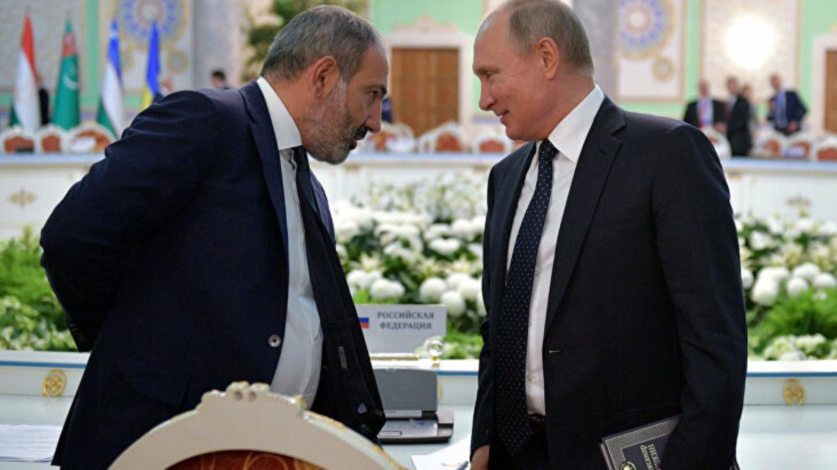 Putin, darbe girişimi sonrası Ermenistan Başbakanı Paşinyan ile görüştü