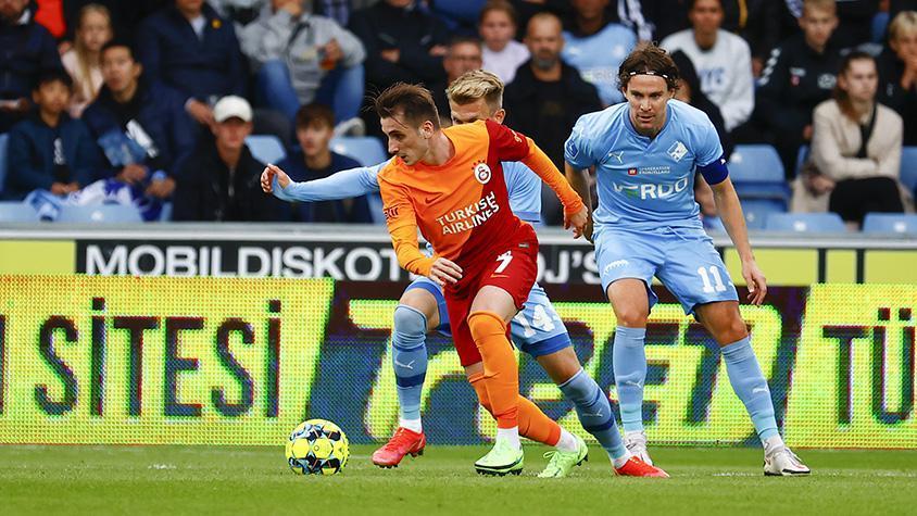 Randers - Galatasaray maçı başladı