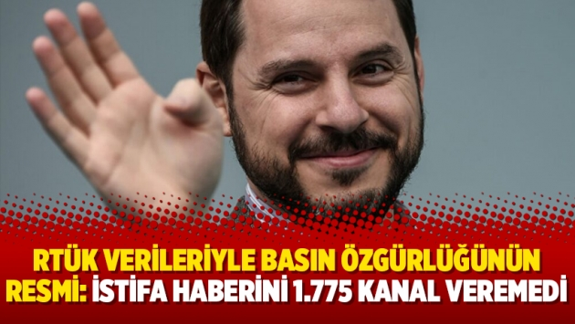 RTÜK verileriyle basın özgürlüğünün resmi: İstifa haberini 1.775 kanal veremedi