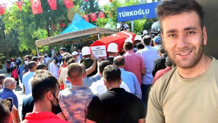 Şehit Uzman Çavuş Ramazan Demir Kahramanmaraşta toprağa verildi