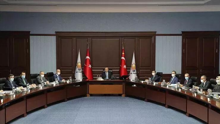 Son dakika: Cumhurbaşkanı Erdoğan başkanlığında AK Parti MYK...