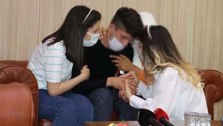 Son dakika: PKKdan kaçıp teslim olan terörist ailesiyle buluştu