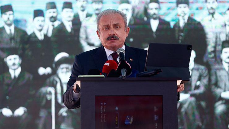 TBMM Başkanı Şentop: Türkiye bugün insanlık davasının adıdır