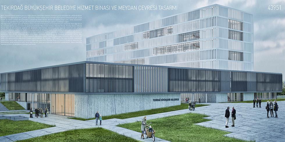 Tekirdağ Büyükşehir Belediye Başkanlığı memur alacak