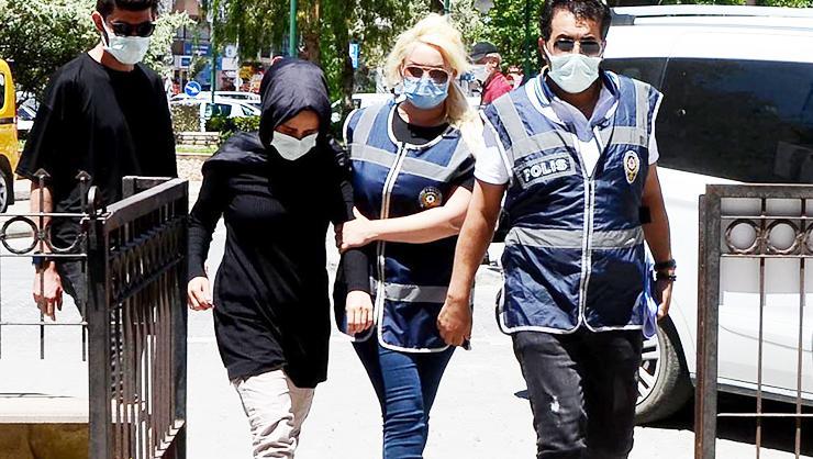 Thodex soruşturması kapsamında gözaltına alınan yenge Zuhal Özer,...