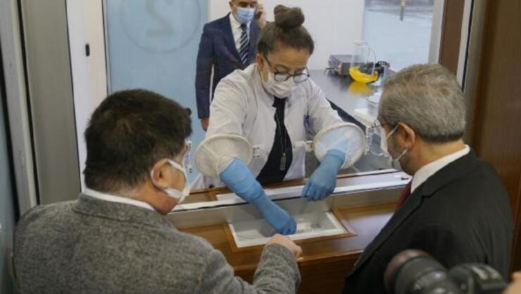 Türkiyenin ilk Akıllı Covid-19 Test Merkezi hizmete girdi
