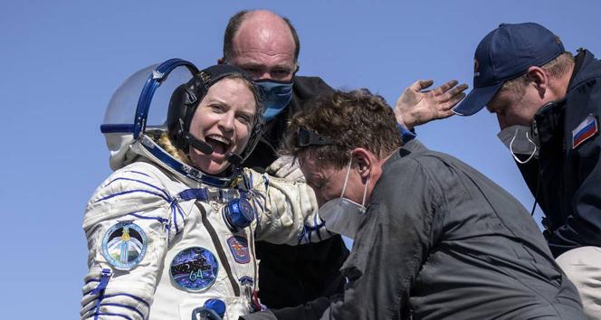 Van Gölü'nün uzaydan fotoğrafını çeken astronot dünyaya döndü